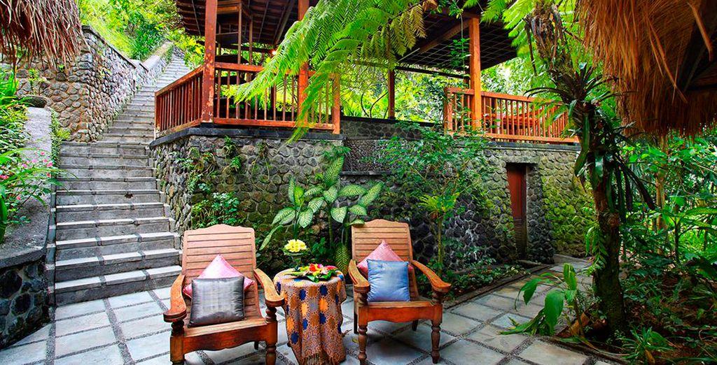 Un Resort tan exótico como acogedor