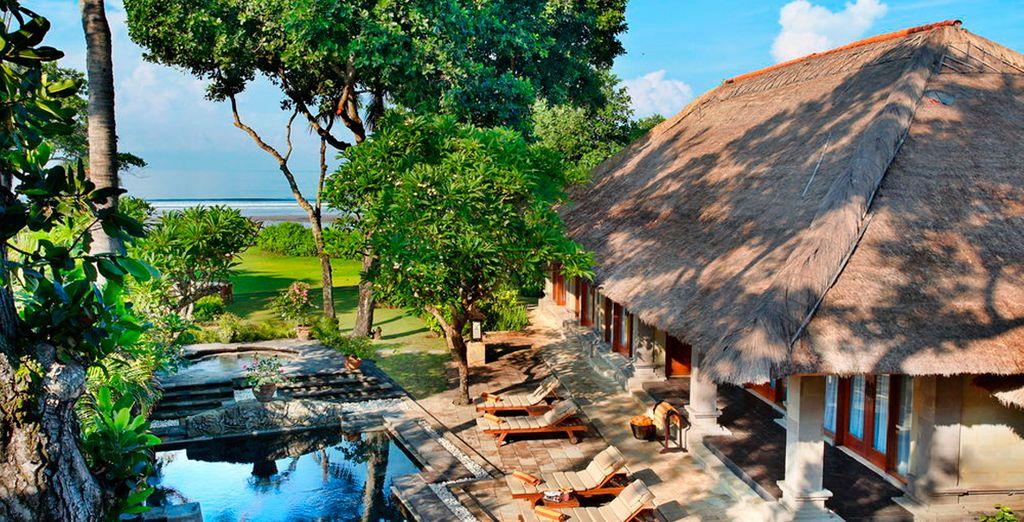 Su segunda estancia será en el Hotel The Royal Beach Seminyak Bali
