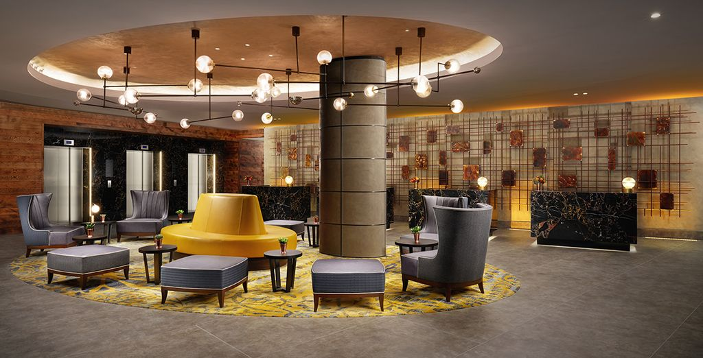 Bienvenido al estilo contemporáneo innegable de Hilton London Bankside
