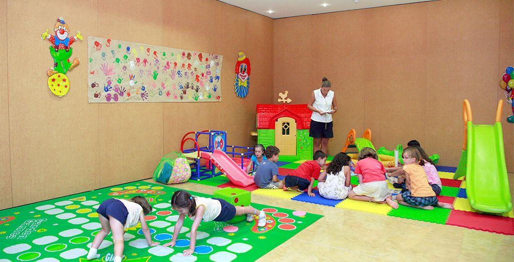 Los más pequeños podrán disfrutar en el Miniclub