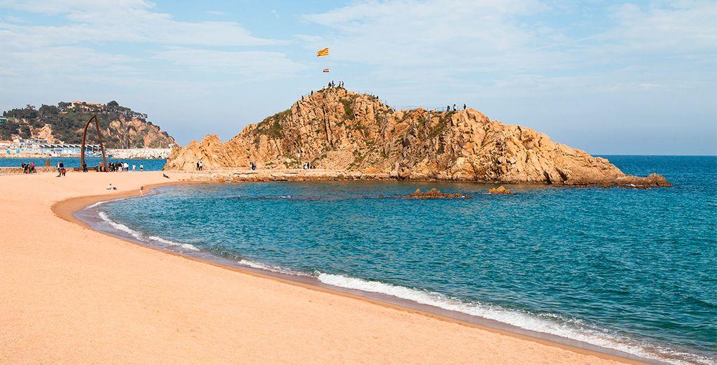 Descubra las mejores playas de la Costa Brava, Sa Palomera