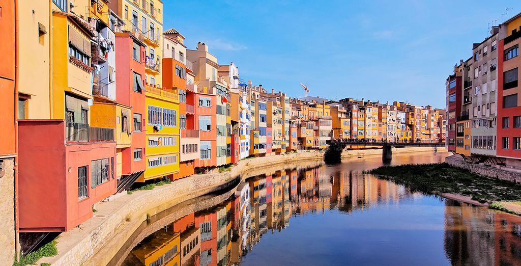 Aproveche para conocer la bella ciudad de Girona