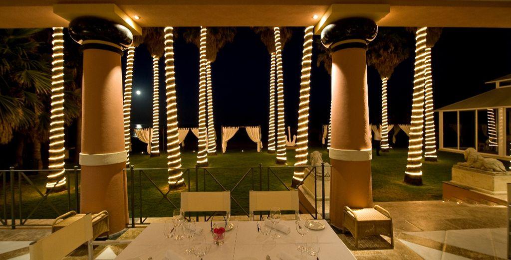 Disfrute de la fusion de la cocina mediterránea e internacional en el Club de Mar