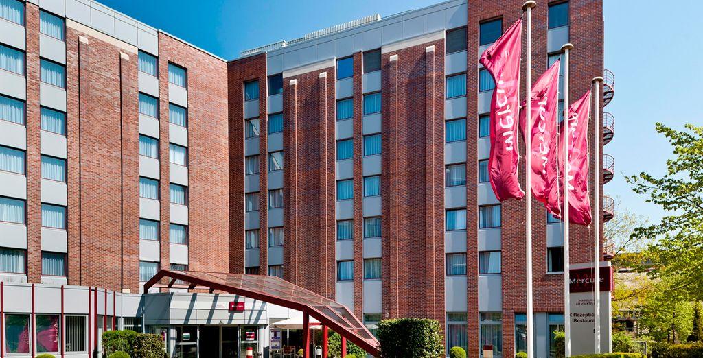Hotel Mercure Am Volkspar 4*, Hamburgo