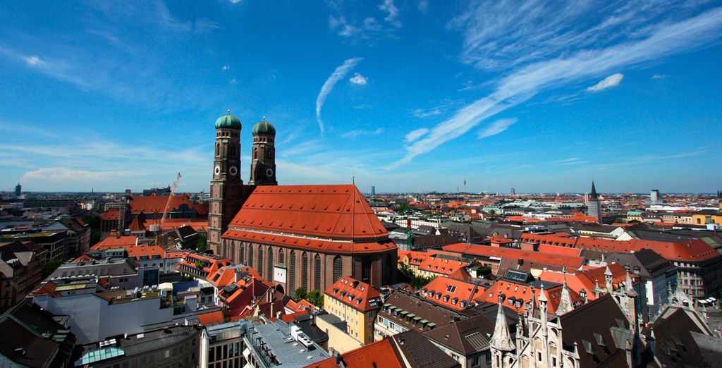 Fantástica arquitectura de Múnich