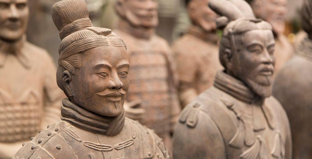 El Museo de Guerreros y Corceles de Terracota, en Xian