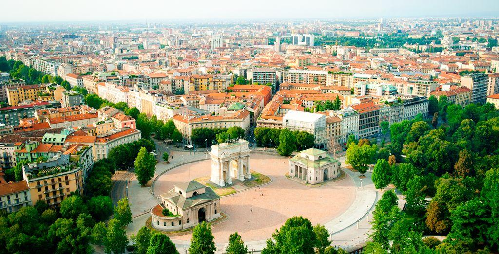 La última parada de este apasionante viaje será Milán, conocida como la capital de la moda