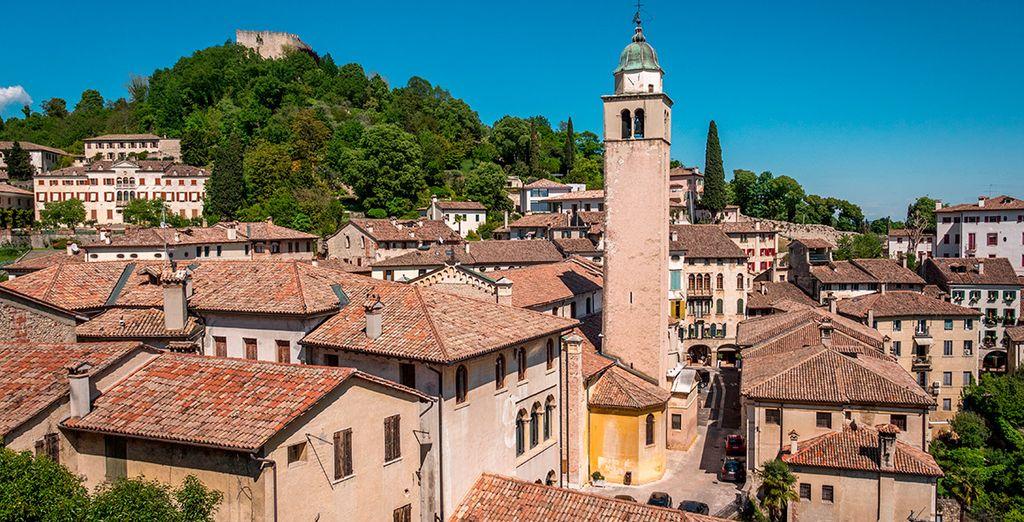 Treviso, joya de la campiña véneta