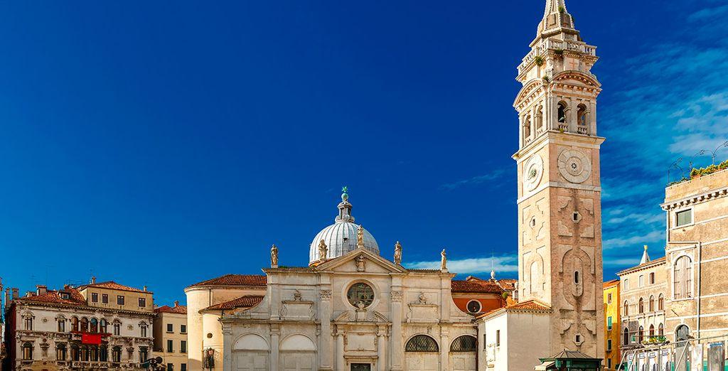 Enamórese de la bella Venecia