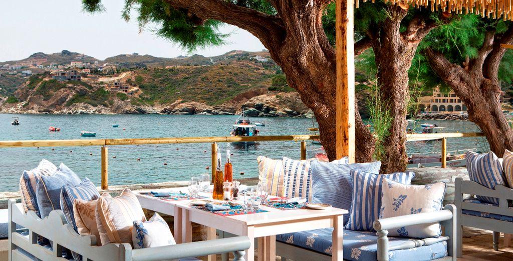 Deguste la mejor gastronomía griega