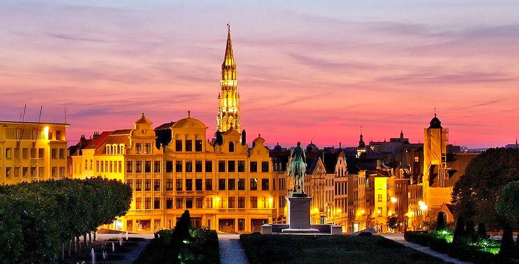 Bruselas, una ciudad mágica y con encanto