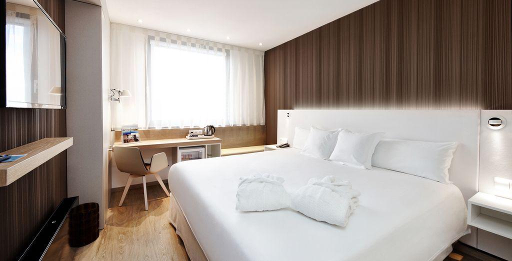 Descansa en tu amplia y moderna habitación Executive