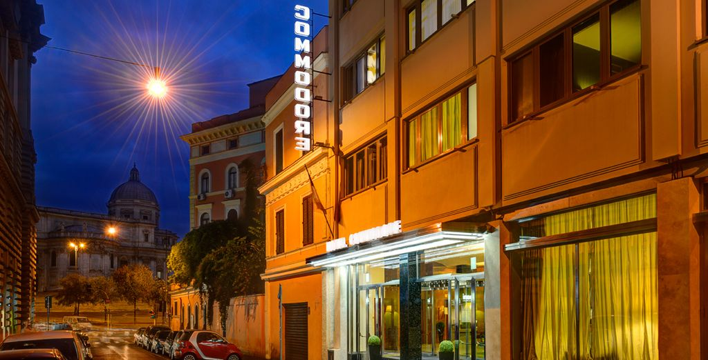 El Hotel Commodore 4* te da la bienvenida