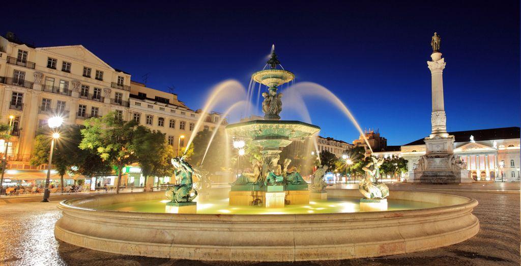 Lisboa de noche, una maravilla