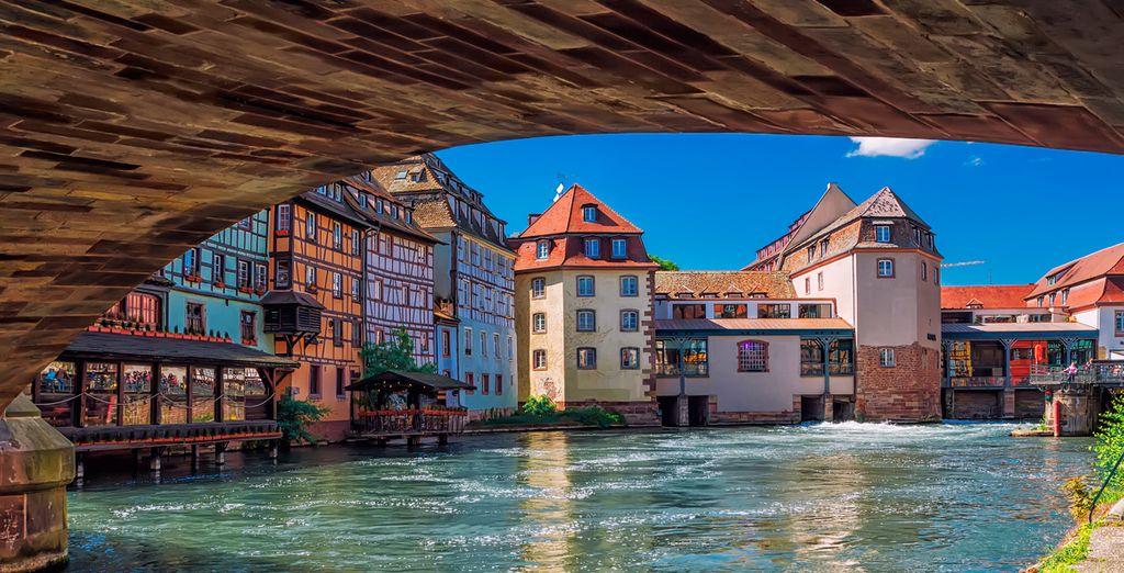 Estrasburgo, la capital de la región de Alsacia y claro ejemplo de ciudad medieval