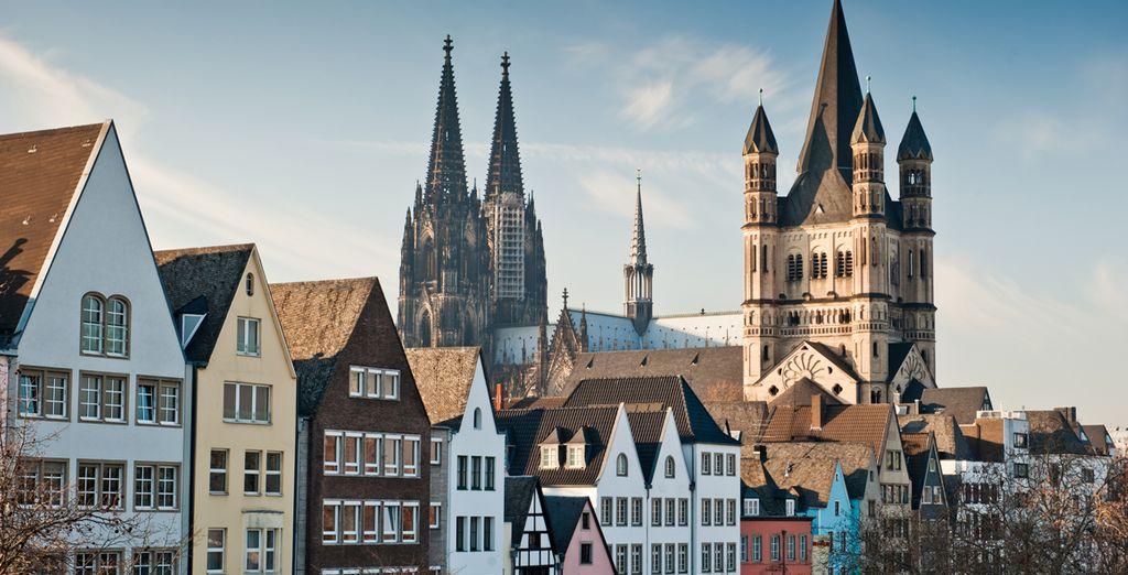 No se pierda su casco antiguo y su famosa catedral gótica