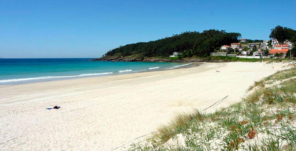 Las playas de Galicia te esperan