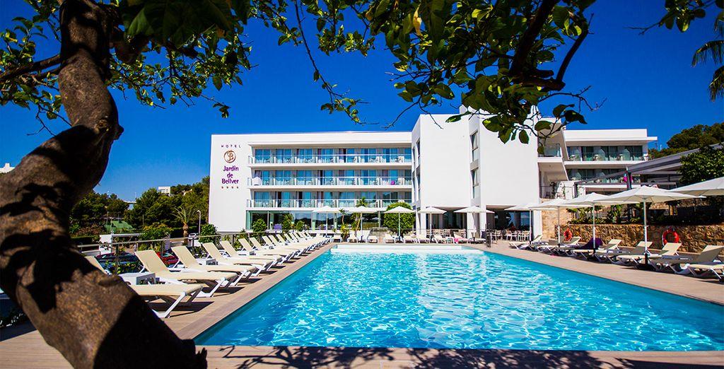 Bienvenido al hotel Jardín de Bellver 4*