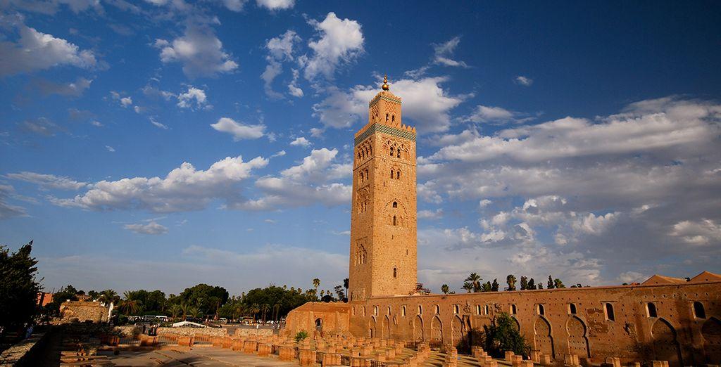 Conoce los tesoros que ofrece Marrakech