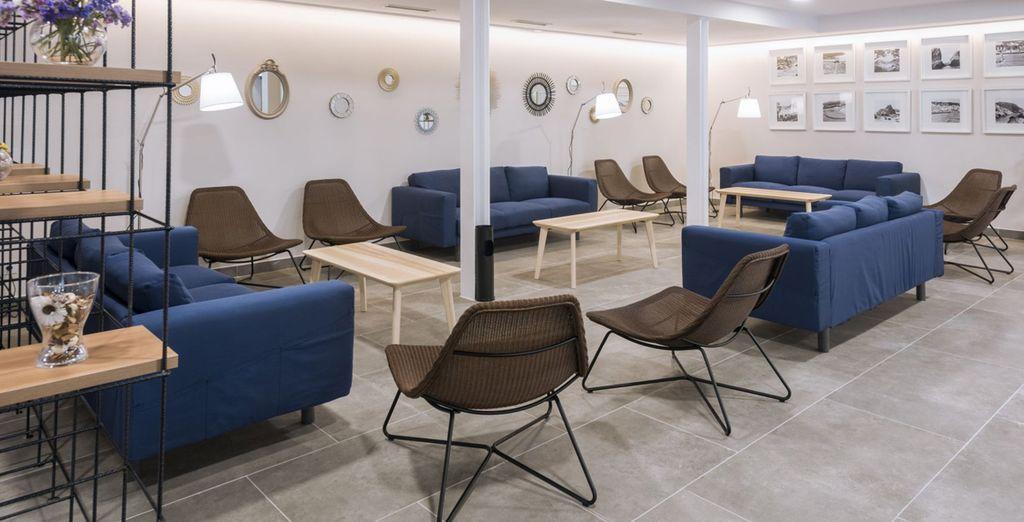 Un hotel moderno y de diseño