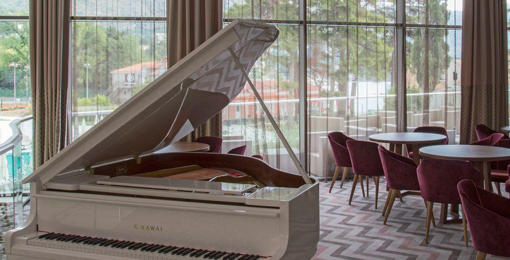 Saborea el sonido del piano