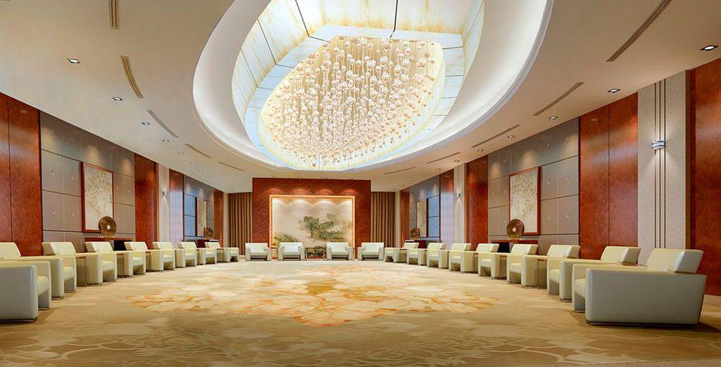 En Beijing, te alojarás en el hotel Liaoning International 5*