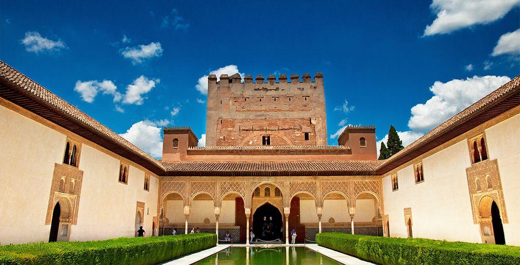 Conoce palacio Nazaríes