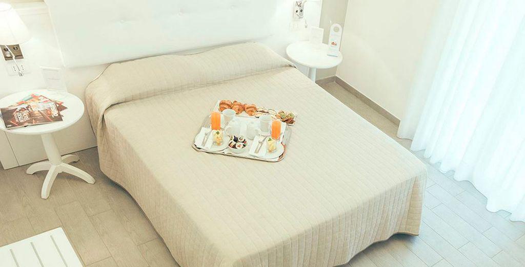 Disfruta de tu cómodo dormitorio