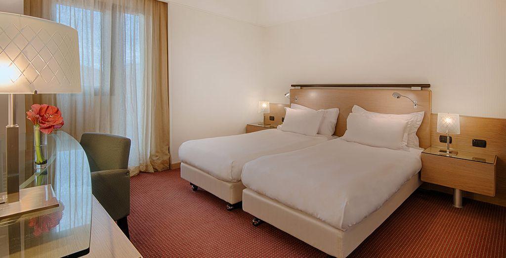 Habitaciones llenas de calidez y confort