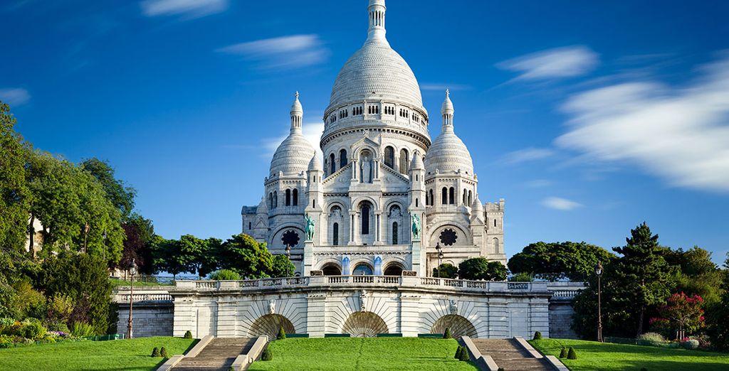 La Catedral del Sacré Coeur, situada en el conocido barrio de los artistas