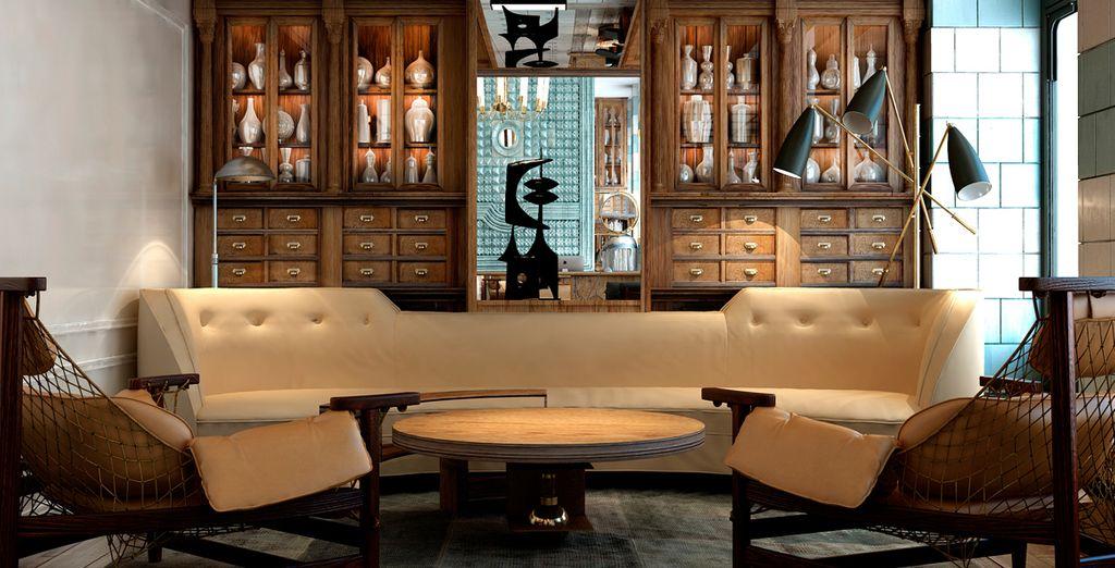 Sofás de diseño y decoración moderna