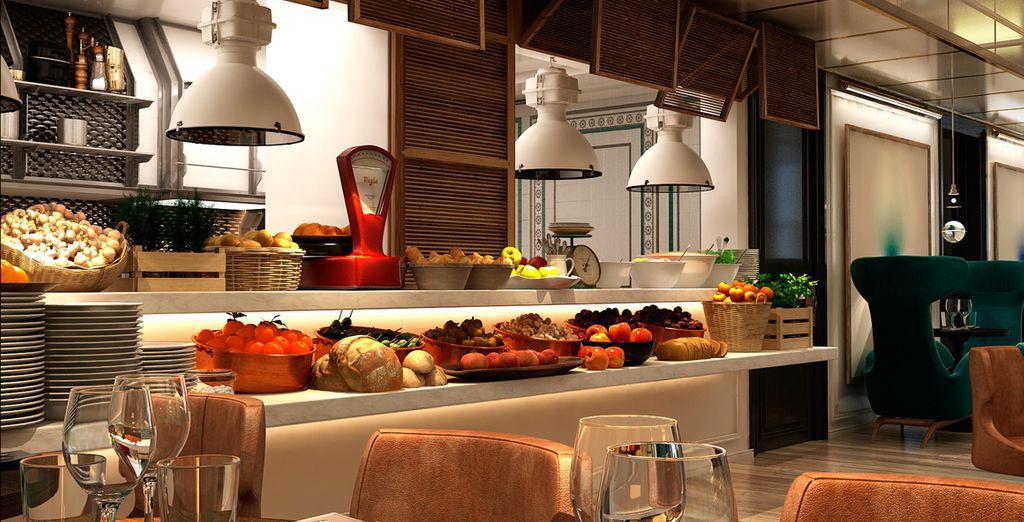 Degusta la comida turca