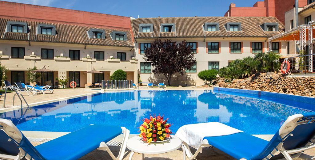 Bienvenidos al hotel Antequera Golf