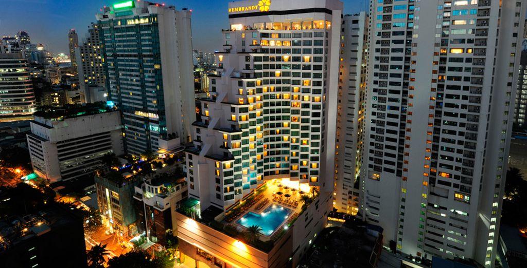 Te alojarás en un hotel 4*, Rembrandt Hotel Bangkok