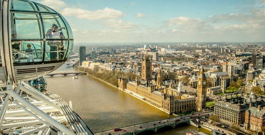 Visita la London Eye para una vista sin igual de esta metrópolis