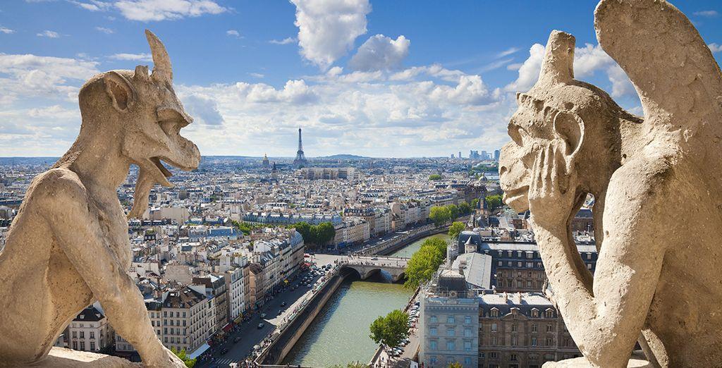 Descubre las famosas gárgolas de la Catedral de Notre Dame