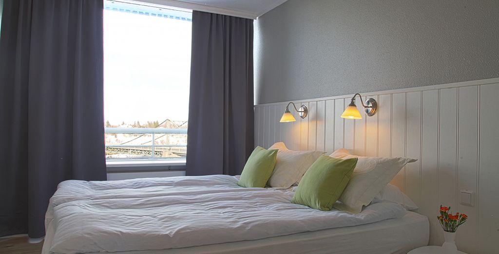 Disfruta de la comodidad de tu habitación Doble