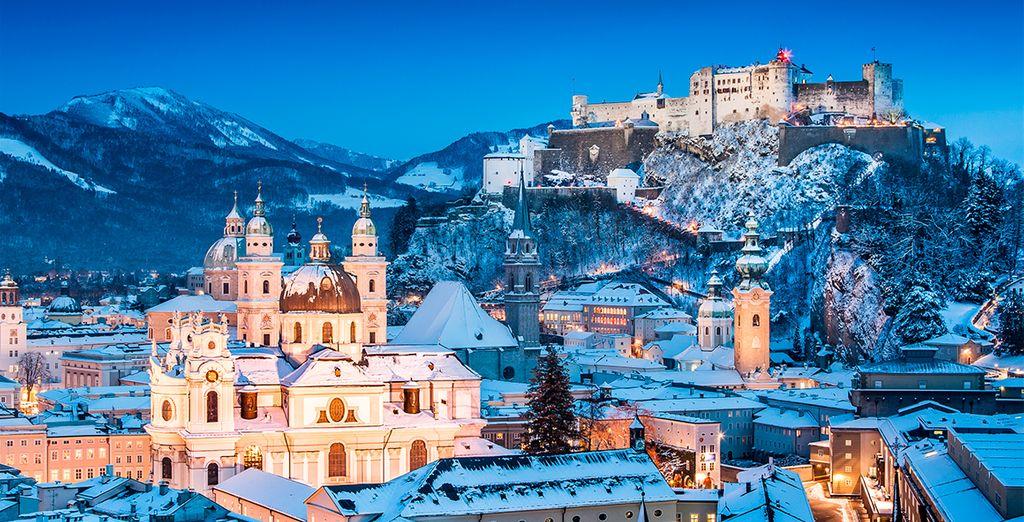 Una estampa idílica para estas navidades en Baviera y El Tirol