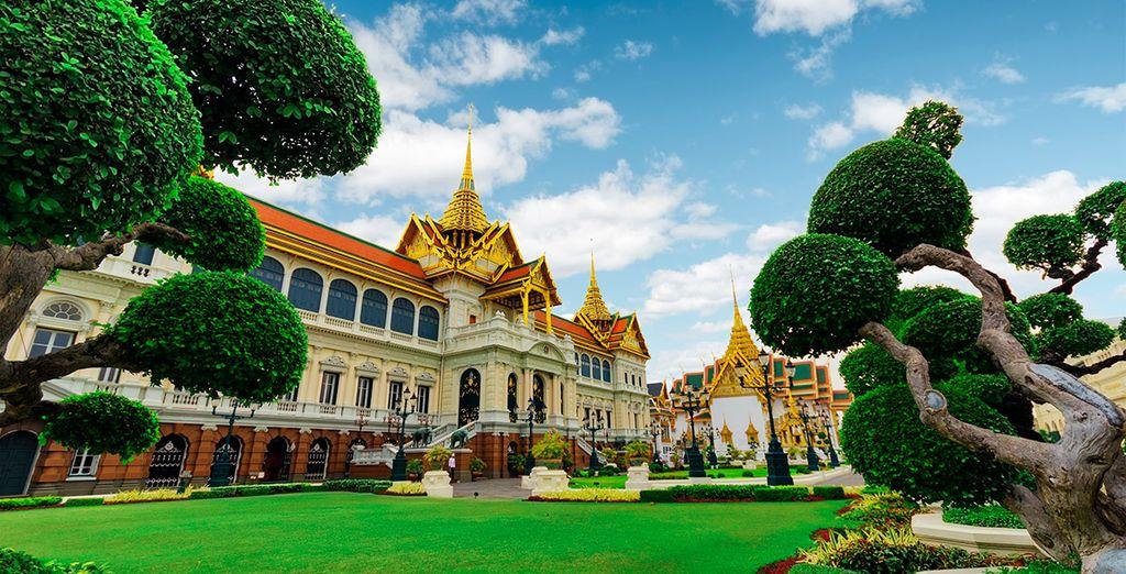 Visitarás el majestuoso Gran Palacio Real