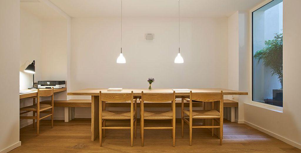 Encontrarás con un diseño contemporáneo y minimalista