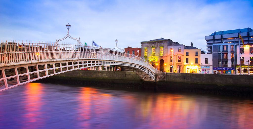 Dublín es vida, música y diversión por todos sus rincones