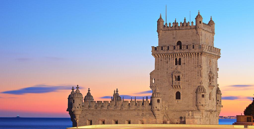 La famosa Torre de Belém