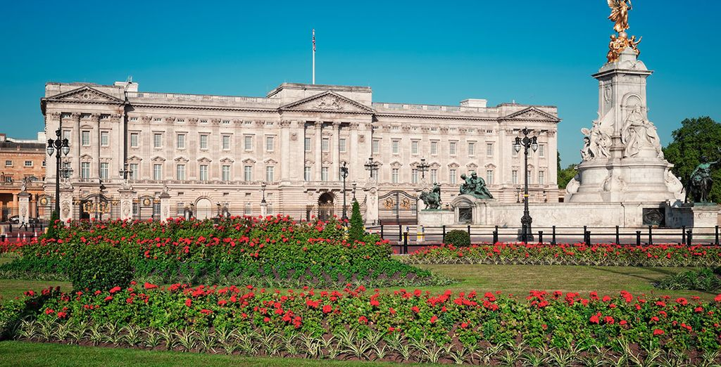 No pierdas la ocasión para acercarte a Buckingham Palace