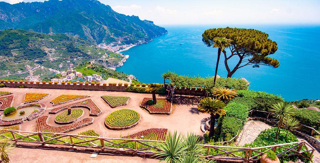Deslúmbrate con la belleza de la Costa Amalfitana