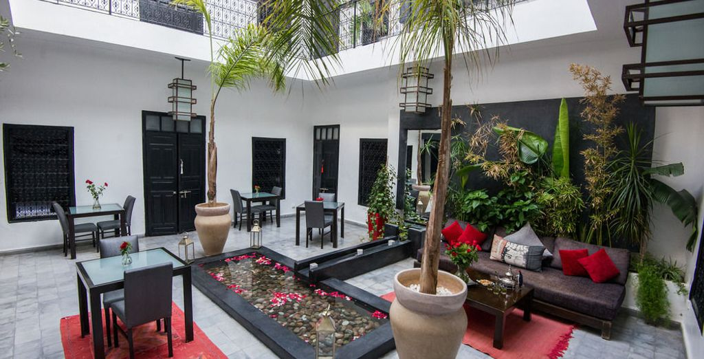 Asómbrate con el clásico estilo marroquí