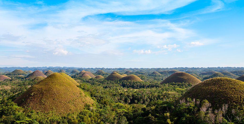 Una visita imprescindible durante tu estancia en Panglao, las Colinas de Chocolate de Bohol