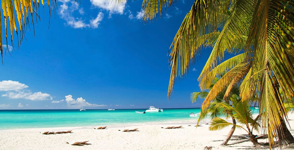 Las playas de Punta Cana te impresionarán