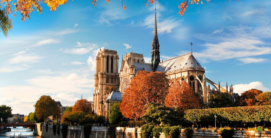 París, la Ciudad del Amor y de las Luces, te enamorará desde el primer instante