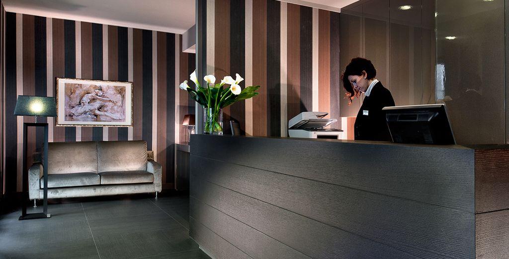 El Hotel Diplomat se encuentra a sólo 10 minutos a pie de la catedral de Florencia