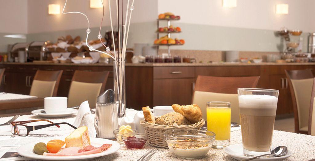 Dispondrás de desayuno diario típico austríaco